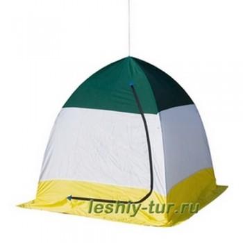 Палатка зимняя Стэк 1м. с брезентом ал.