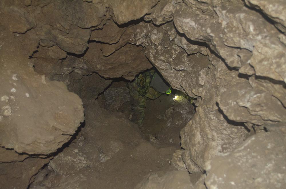 Ходы в Бабиногорской пещере