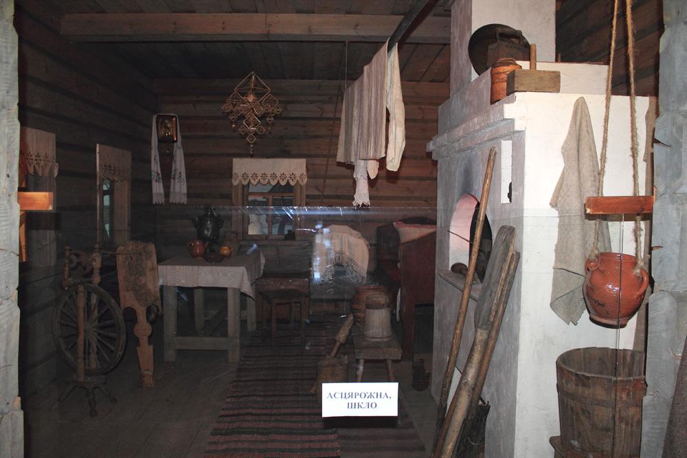 Белорусская изба