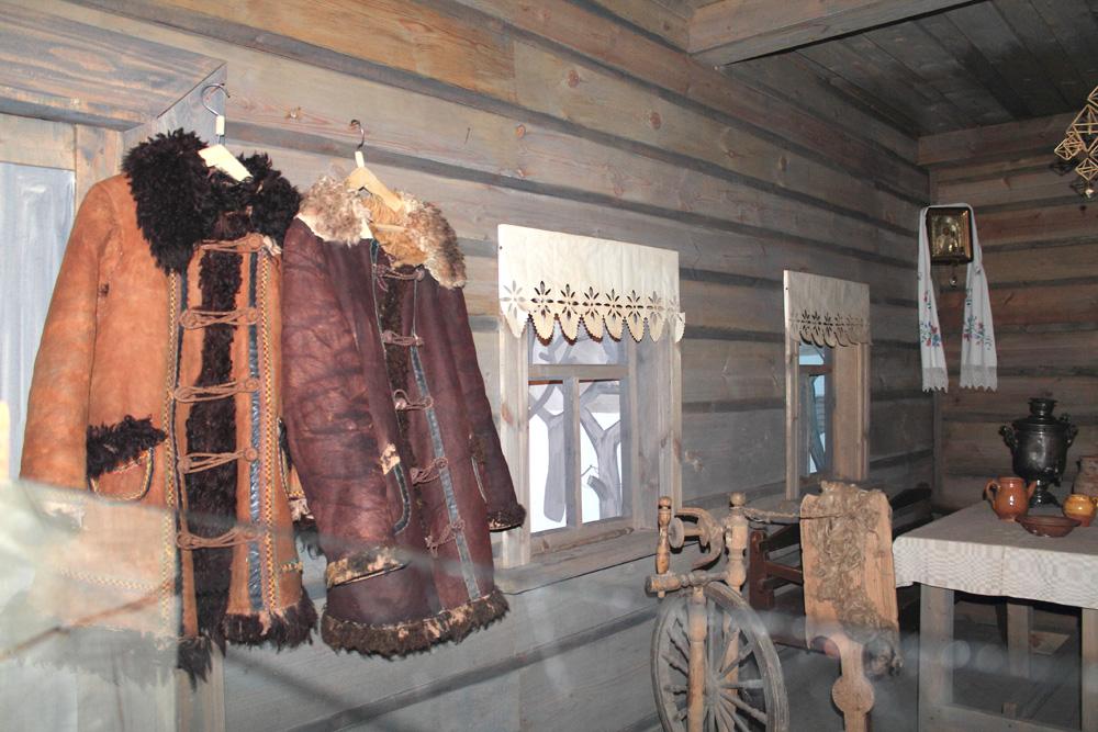 Белорусская изба XIX века