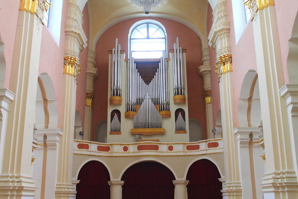 Орган в Софийском соборе