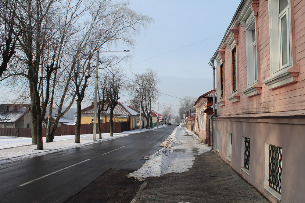 Улочки Полоцка