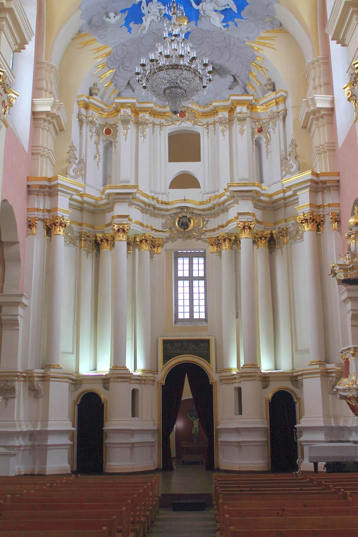 Внутреннее убранство Софийского собора