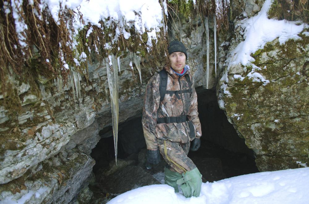 """Вход в пещеру """"Геологов-1"""""""