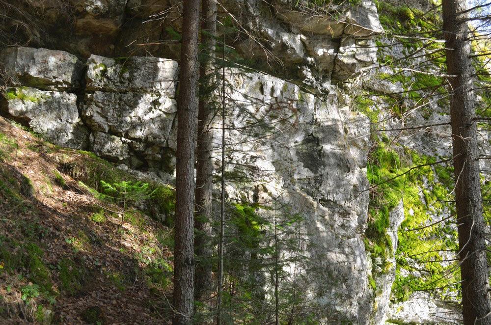 Отвесные стены на Койве